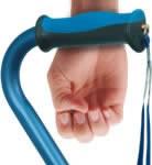 measuring cane at wrist break