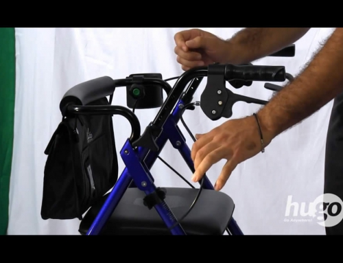 How to adjust the handles of your Hugo Rolling Walker
