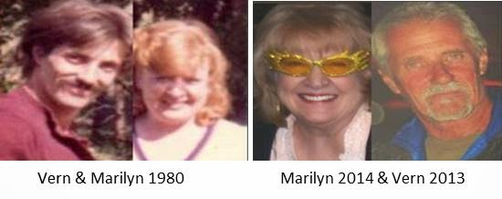 Vern and Marilyn 1980 and 2013