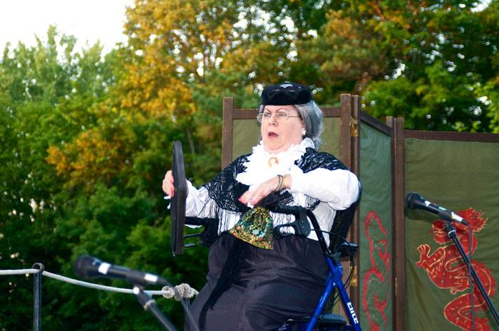 Participation's Music Hall Theatre Productions at the 2015 Manor House Lawn Social