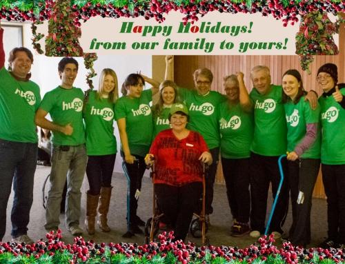 Happy Holidays from the Hugo family!