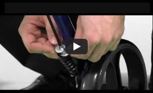 How to Adjust the Brakes on Your Hugo Rollator