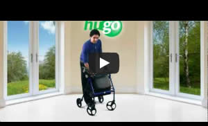 How to fold your Hugo Rollator
